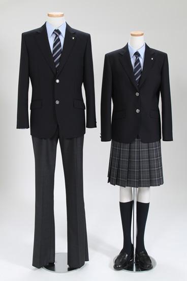 都立科学技術高等学校制服画像